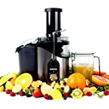 Duronic JE8 - 800W Powerful Whole Fruit Centrifugal Power Fruit and Vegetable Juicer with Jug - Juicer machine to make delicious apple | orange | carrot juicer and more -- 2 Years Free Warranty