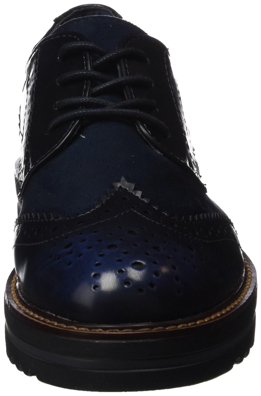 047336, Richelieus Femme, Bleu (Navy Navy), 36 EUXti