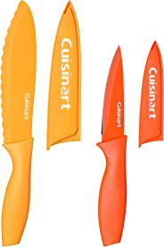 Cuisinart C55CNS-4PUT Advantage Color Collection 4-Piece Non-Stick Cutlery Set, Multicolor