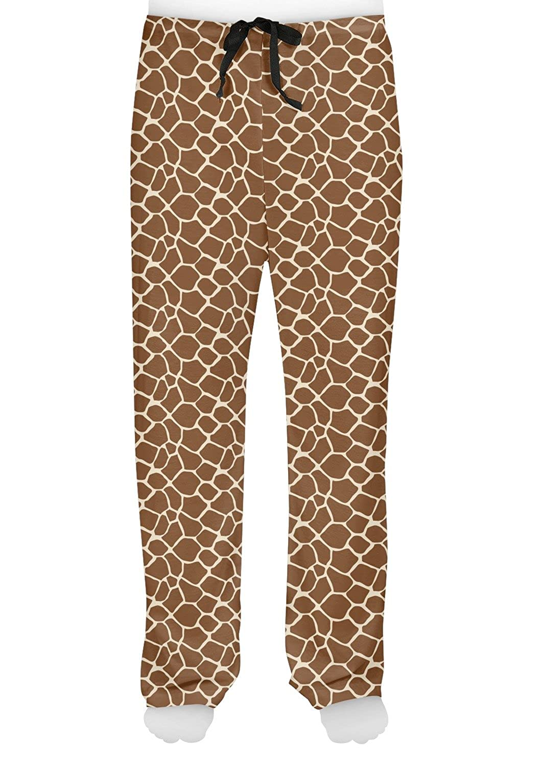 RNK Shops Giraffe Print Mens Pajama Pants Personalized