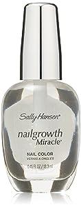 Sally Hansen Nail Growth Miracle, Clear, 0.45 Fluid Ounce