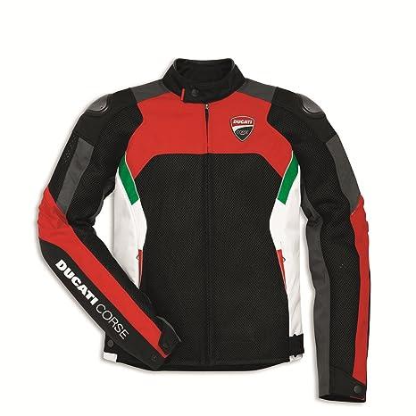 Amazon.com: Ducati Corse - Chaqueta de moto de tela ...