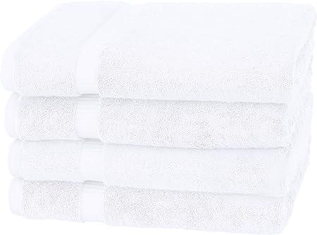 Pinzon - Toallas de baño de mezcla de algodón orgánico, juego de 4 ...