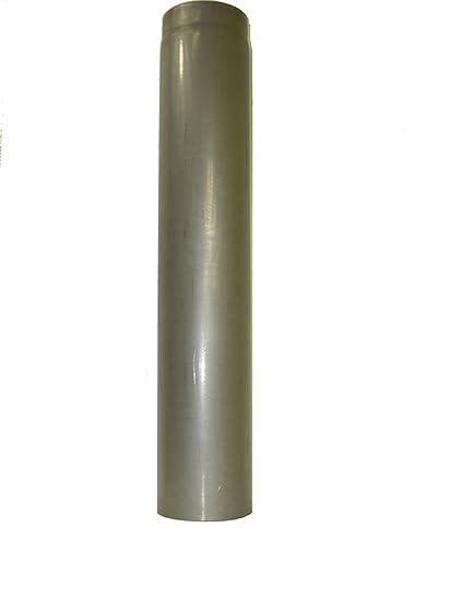 lanzzas humo Tubo estufa (Tubo garantía 1000 mm de diámetro 200 mm sin lacar