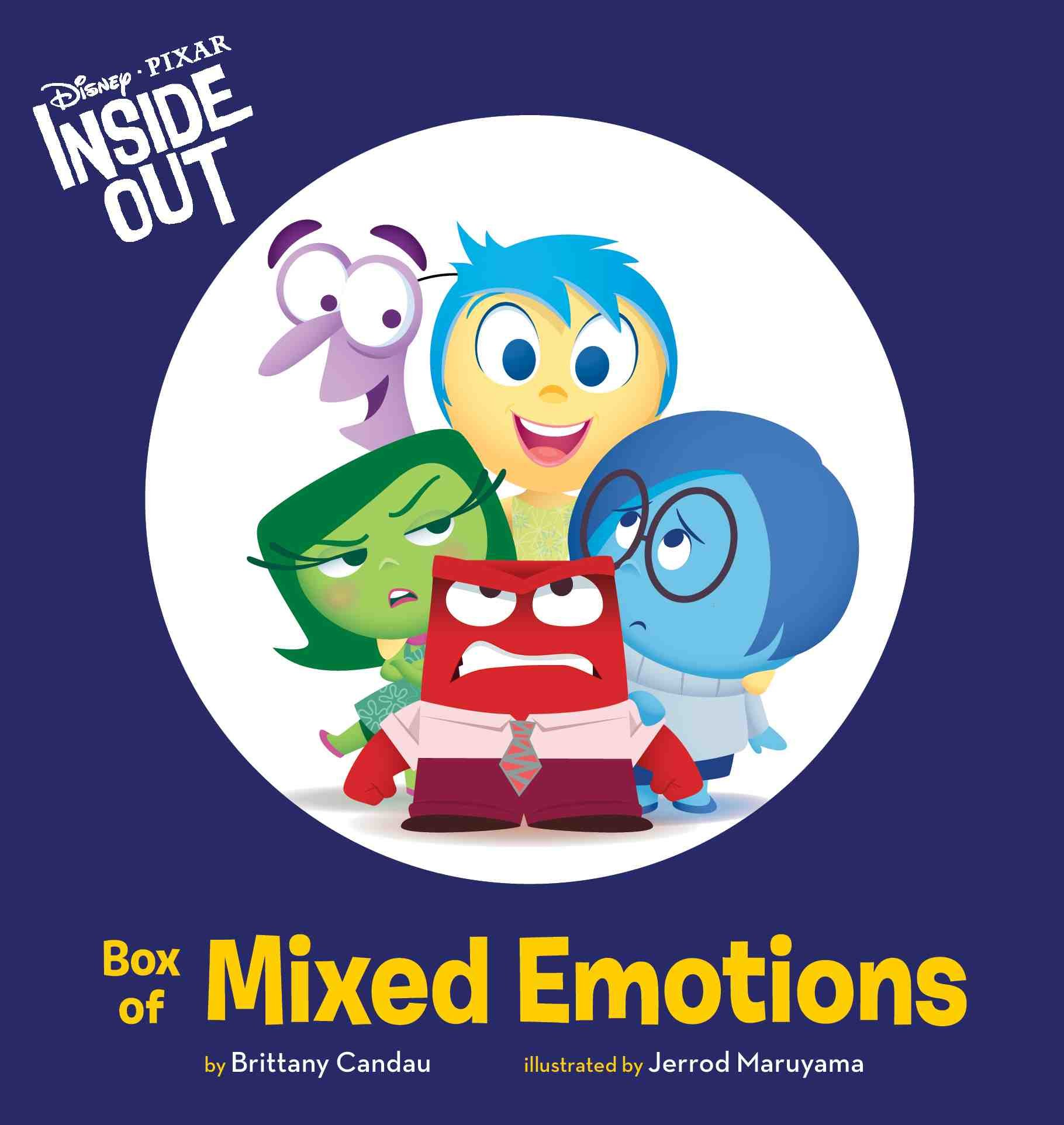 Joy inside out coloring book games - Inside Out Box Of Mixed Emotions Disney Book Group 9781484716717 Amazon Com Books