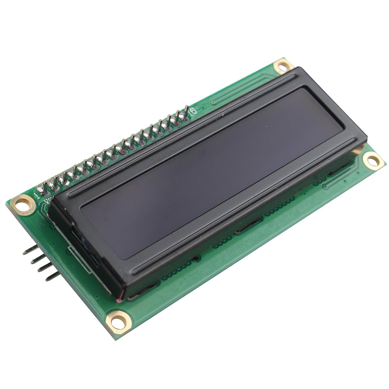 5/V IIC//I2/C LCD-Modul 1602/16/X 2/Serial HD44780/Charakter LCD BOARD DISPLAY MIT HINTERGRUNDBELEUCHTUNG F/ÜR Arduino UNO R3/Mega2560/Nano aufgrund Raspberry Pi wei/ß auf blau