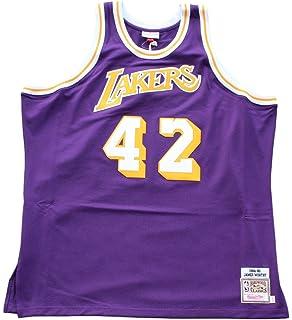 8df35cdbb5f uk lakers 42 james worthy stitched purple throwback nba jersey 32dd1 72ecb