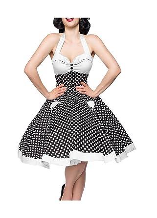 Belsira Damen Vintage-Swing-Kleid im Retro-Style  Amazon.de  Bekleidung 3c77cad0ce