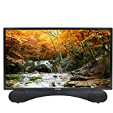 Linsar X24DVDMK2 24-Inch LED Full HD 1080p TV/DVD Kit with Freeview HD and Built-In Soundbar - Black
