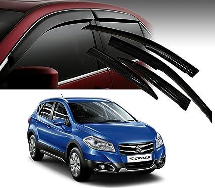 3cb397313 Image Unavailable. Image not available for. Colour: Auto Pearl Car Rain  Wind Door Visor Side Window Deflector for Maruti Suzuki ...