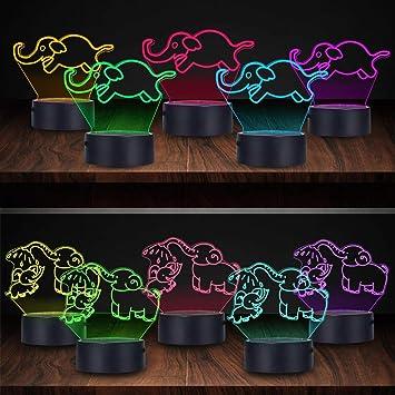 Amazon.com: Hongkids luces nocturnas para niños, luces de ...