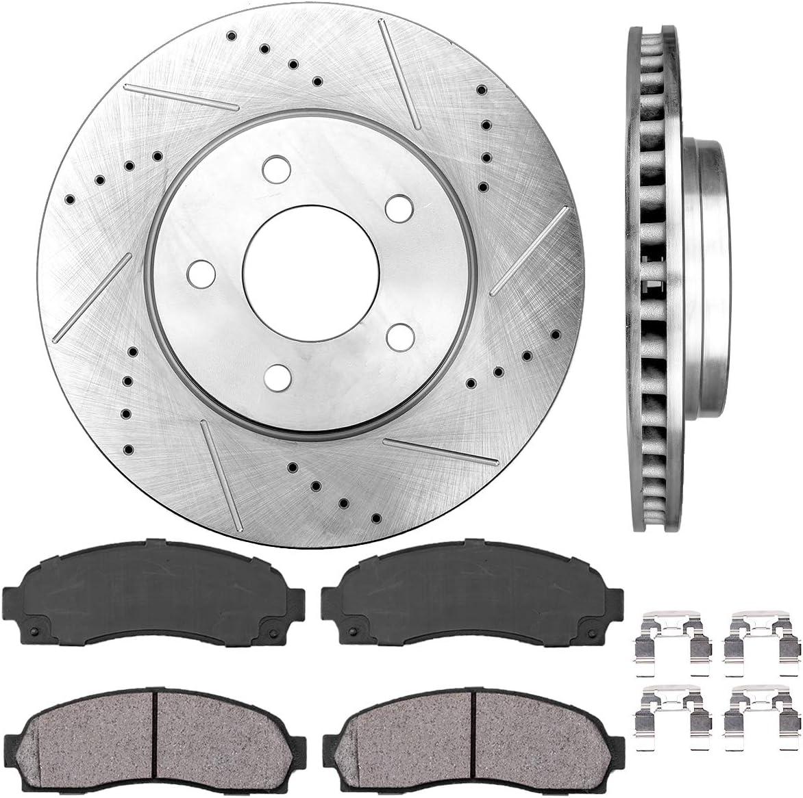 2006 Pontiac Torrent OE Replacement Rotors w//Ceramic Pads F