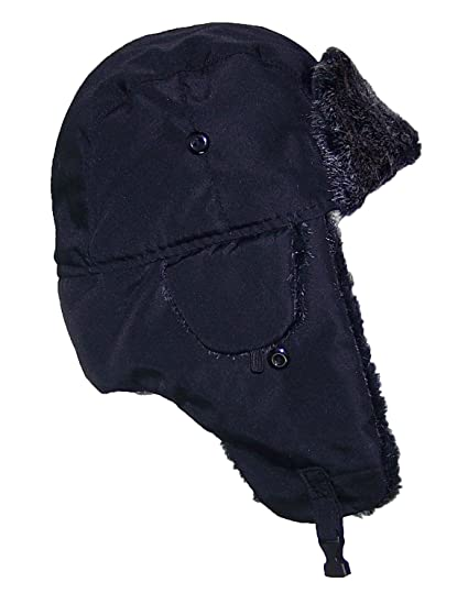 a4c3c657981 Best Winter Hats Big Kids Nylon Russian Aviator Winter Hat (One Size) -