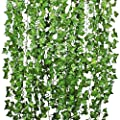 Artiflr Artificial Garland Greenery Fake Hanging Vine