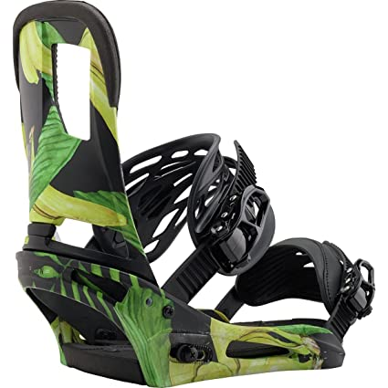 Burton Cartel Snowboard Binding 2018 - Mens Tommy Bananas Small