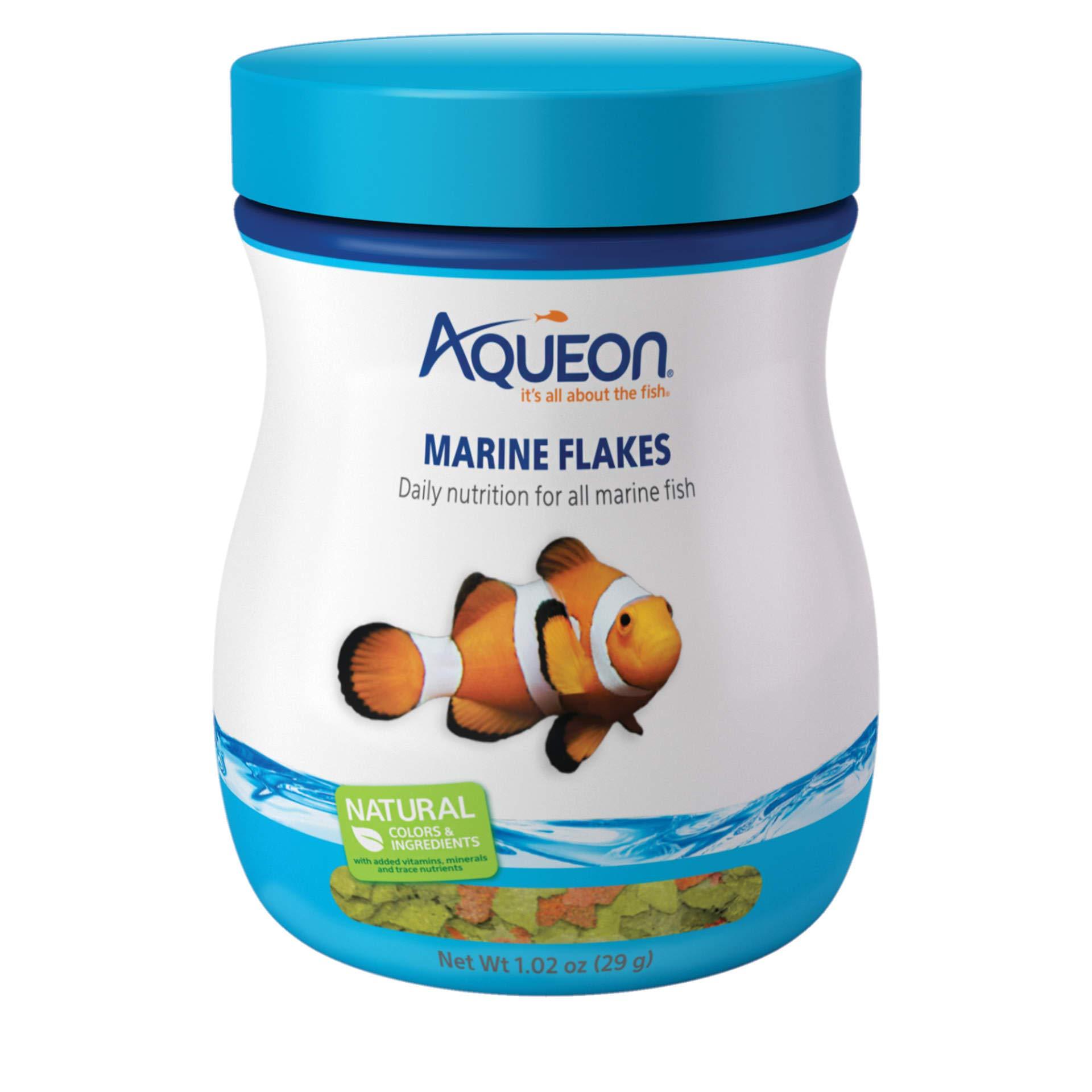 Aqueon 06045 Marine Flakes, 1.02-Ounce