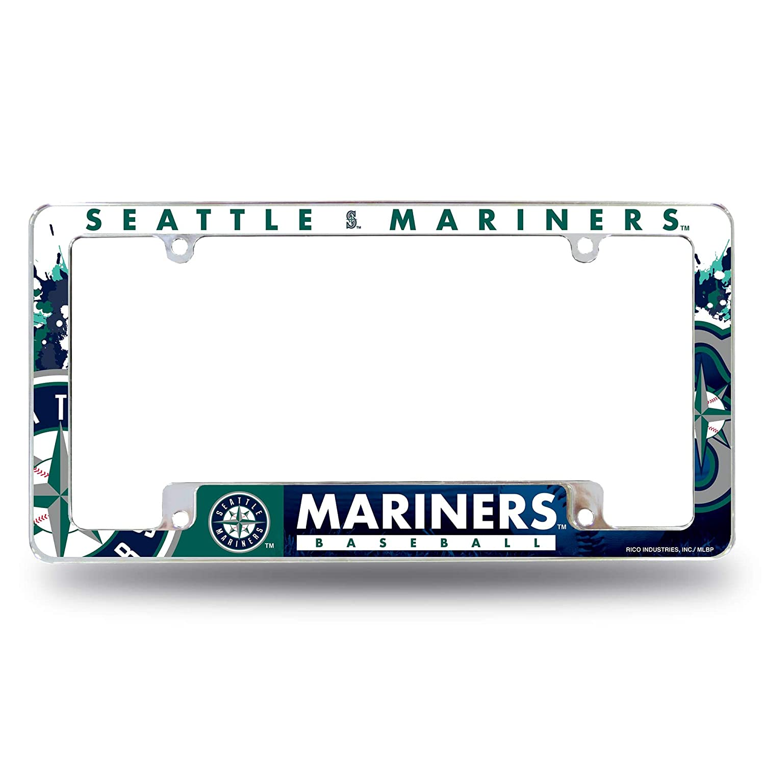 Rico Industries Seattle Mariners All Over Chrome Frame