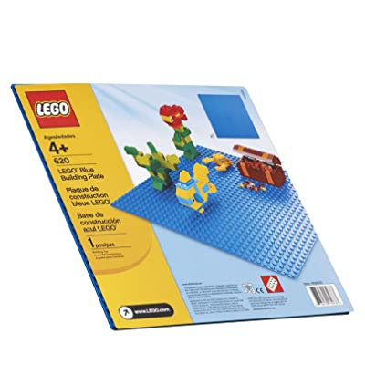 "LEGO Blue Building Plate (10"" x 10""): Toys & Games"