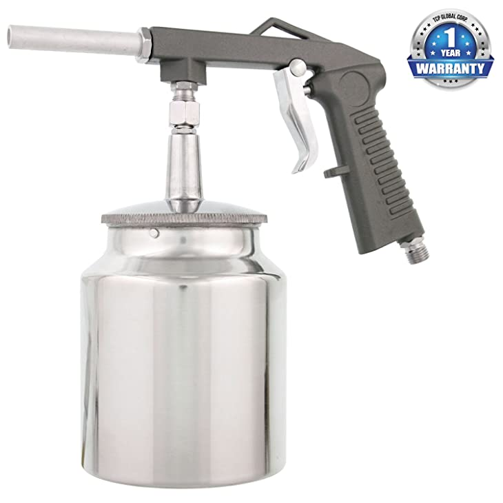 TCP Global Undercoating Gun with Suction Feed Cup