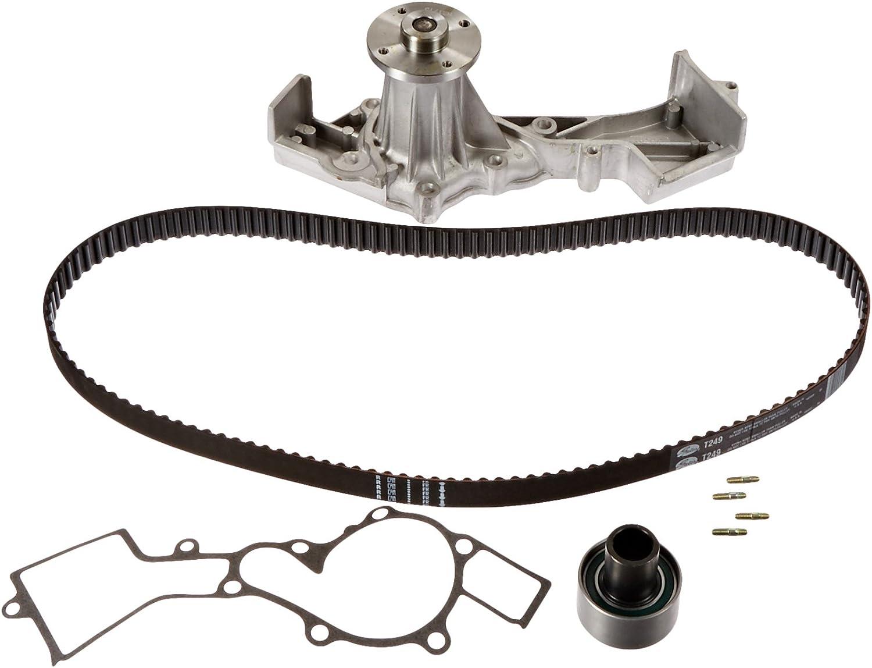 Amazon Com Gates Tckwp249 Engine Timing Belt Kit With Water Pump Automotive