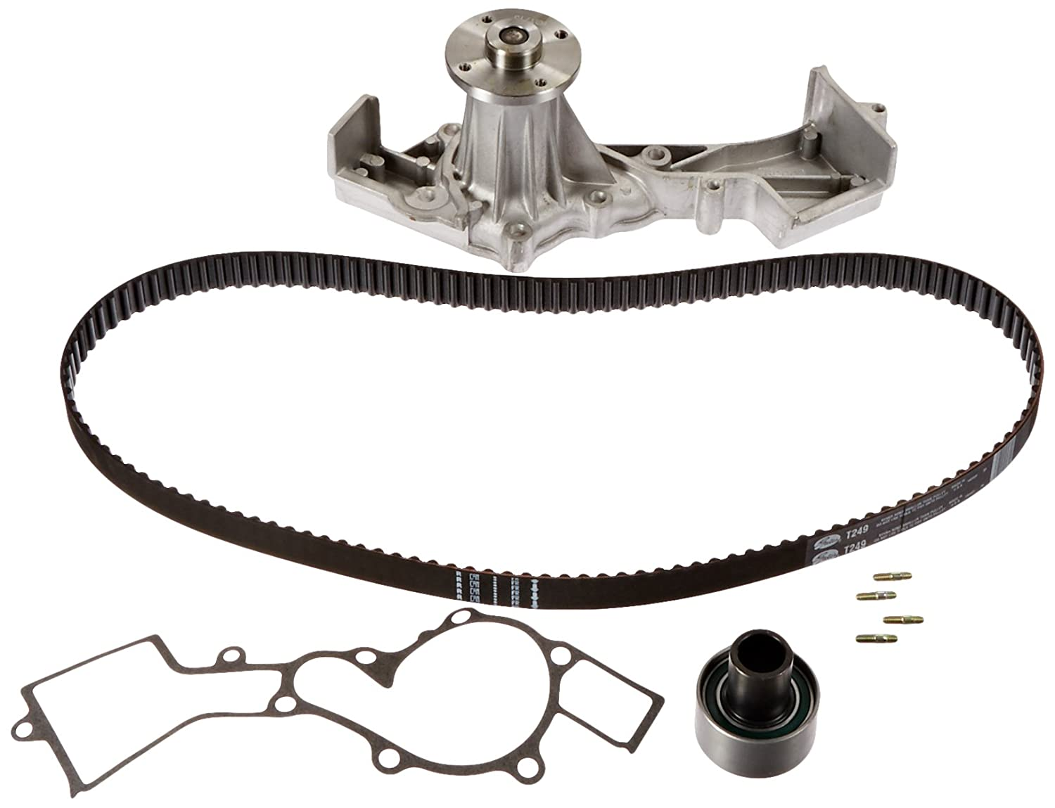 Gates TCKWP249 Engine Timing Belt Kit with Water Pump