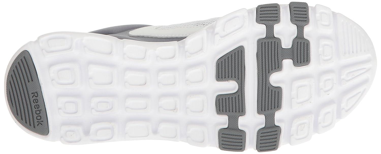 Reebok Women's Yourflex Trainette 9.0 MT Cross-Trainer Shoe B01N4SGMG8 8 B(M) US|White/Asteroid Dust/Silver Met/Grey