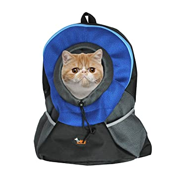 Amazon.com : Ondoing Pet Carrier Backpack Dog Travel Bag Pet front ...
