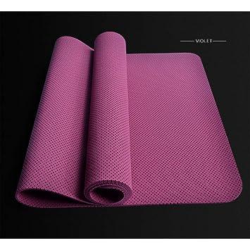 Baibian 5Mm TPE Yoga Mat Antideslizante Alfombra Mat Pad Pad ...