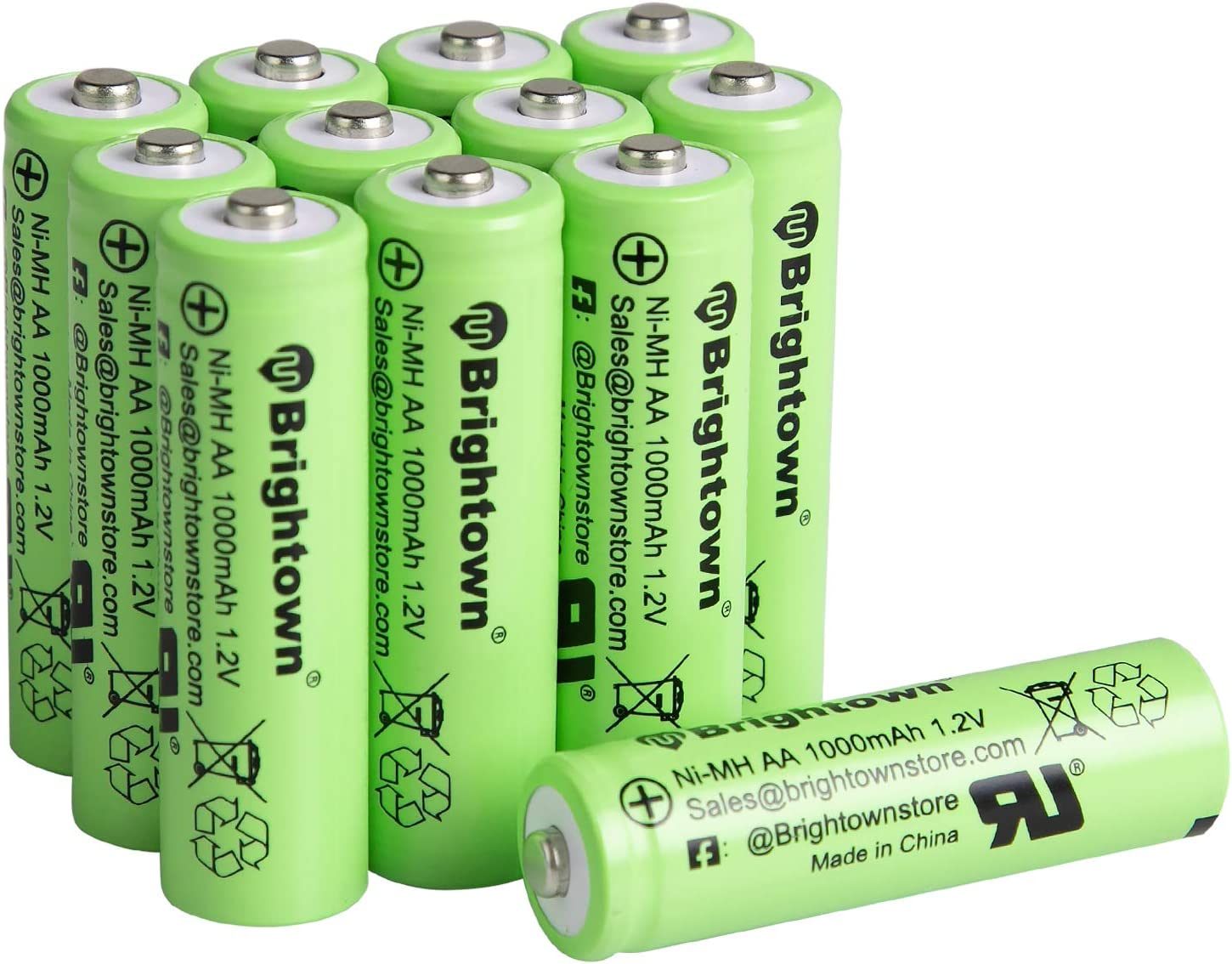 Brightown – Ni-MH AA - Best Rechargeable Batteries