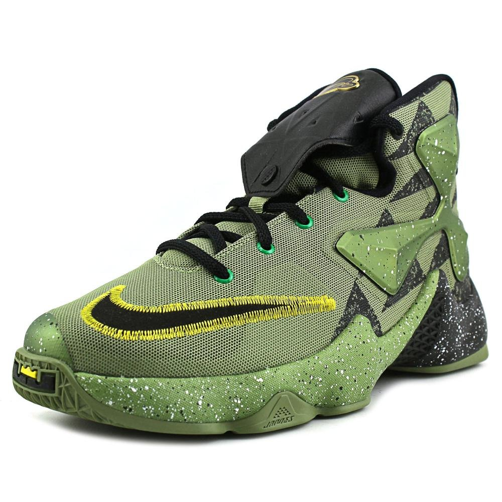 Nike Kids Lebron XIII AS GS, ALL STAR-ALLIGATOR/BLACK-LUCKY GREEN, Youth Size 6 by NIKE