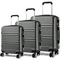 Kono Juego Set 3 Maletas Trolley Rígida ABS