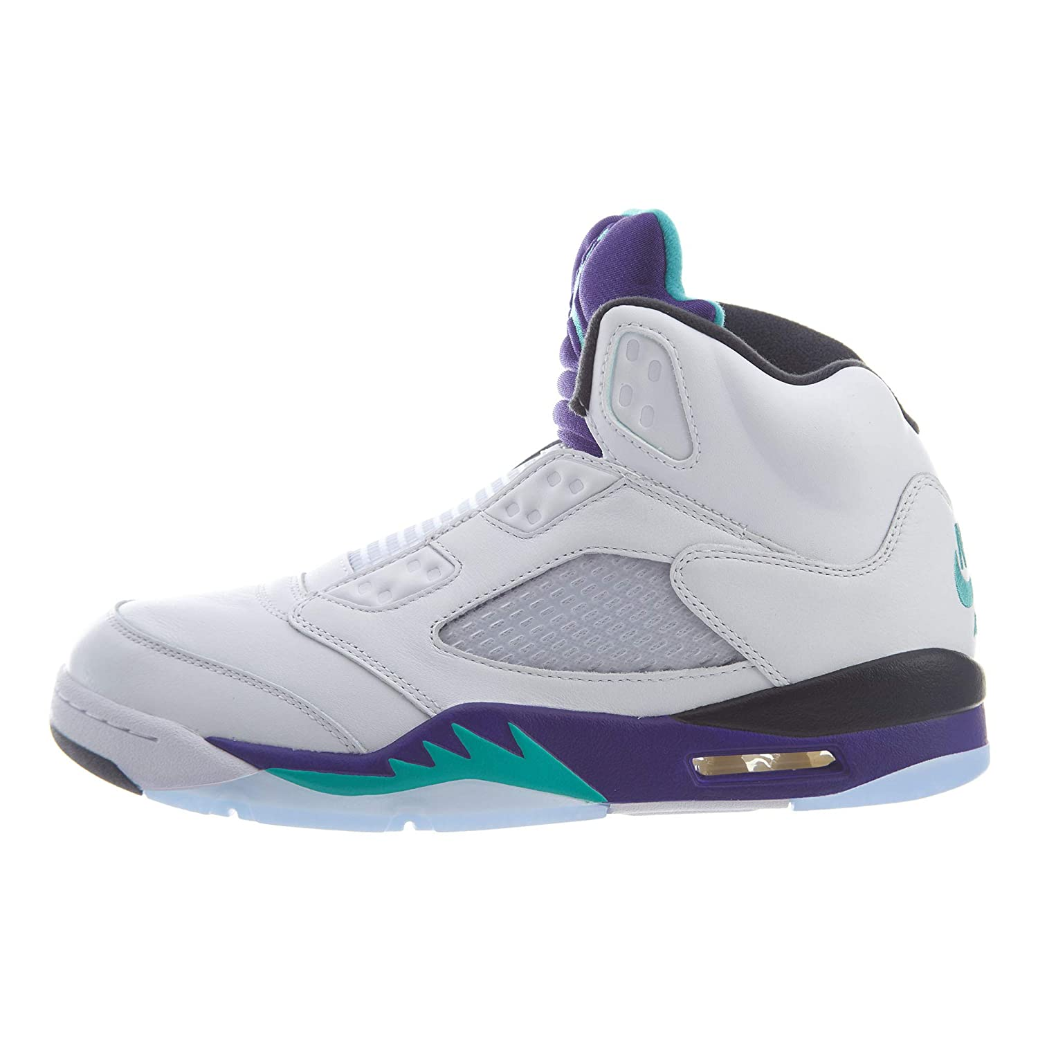 online retailer d2431 02944 Amazon.com | Jordan Nike 5 Retro Grape Fresh Prince Mens ...