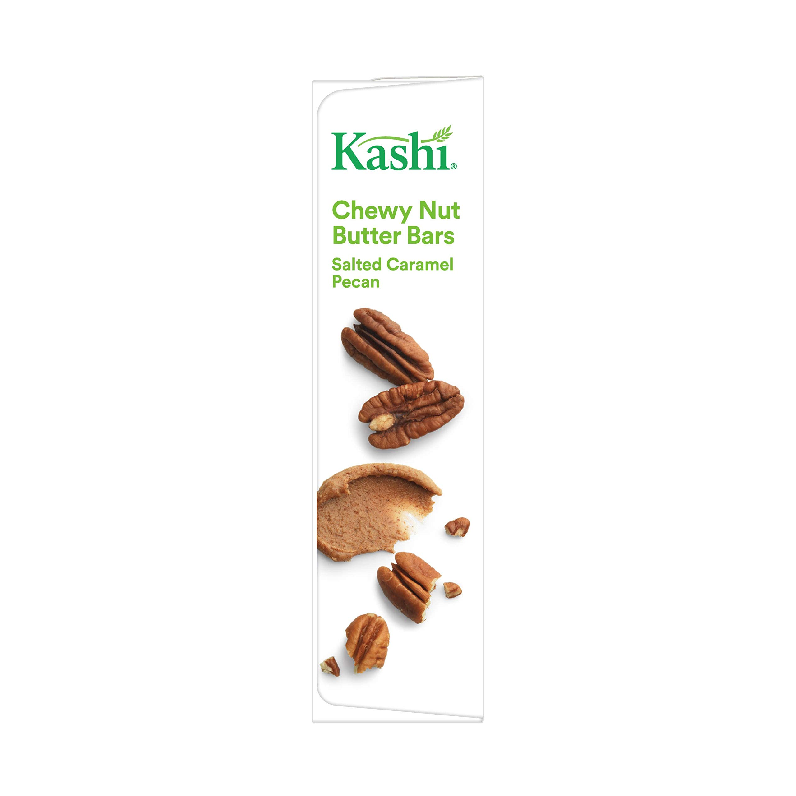 Kashi, Chewy Nut Butter Bars, Salted Caramel Pecan, Gluten Free, Non-GMO Project Verified, 6.15 oz (5 Count)(Pack of 8) by Kashi (Image #5)