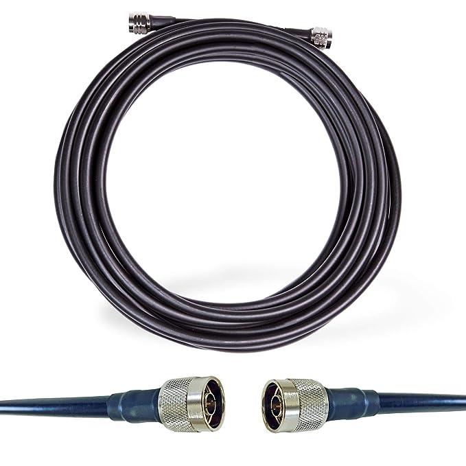 RSRF RS400 - Cable coaxial para Radio de Jamón, WiFi, y ...