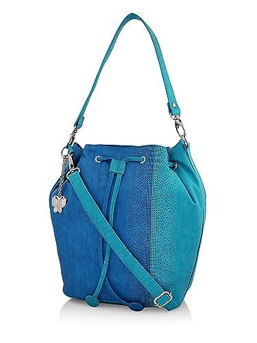 e7ca6e214329 Amazon.com  Butterflies Women s Hobo (Blue) (BNS 0611BL)  Shoes