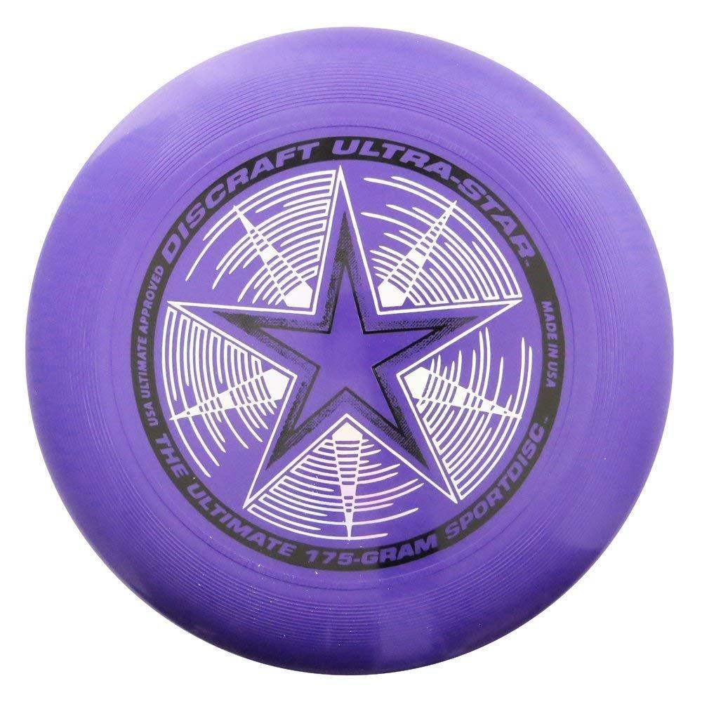 Frisbee Profesional Discraft 175 gramos / 27cm. Ultra Star Sport Disc Purpura Perlado
