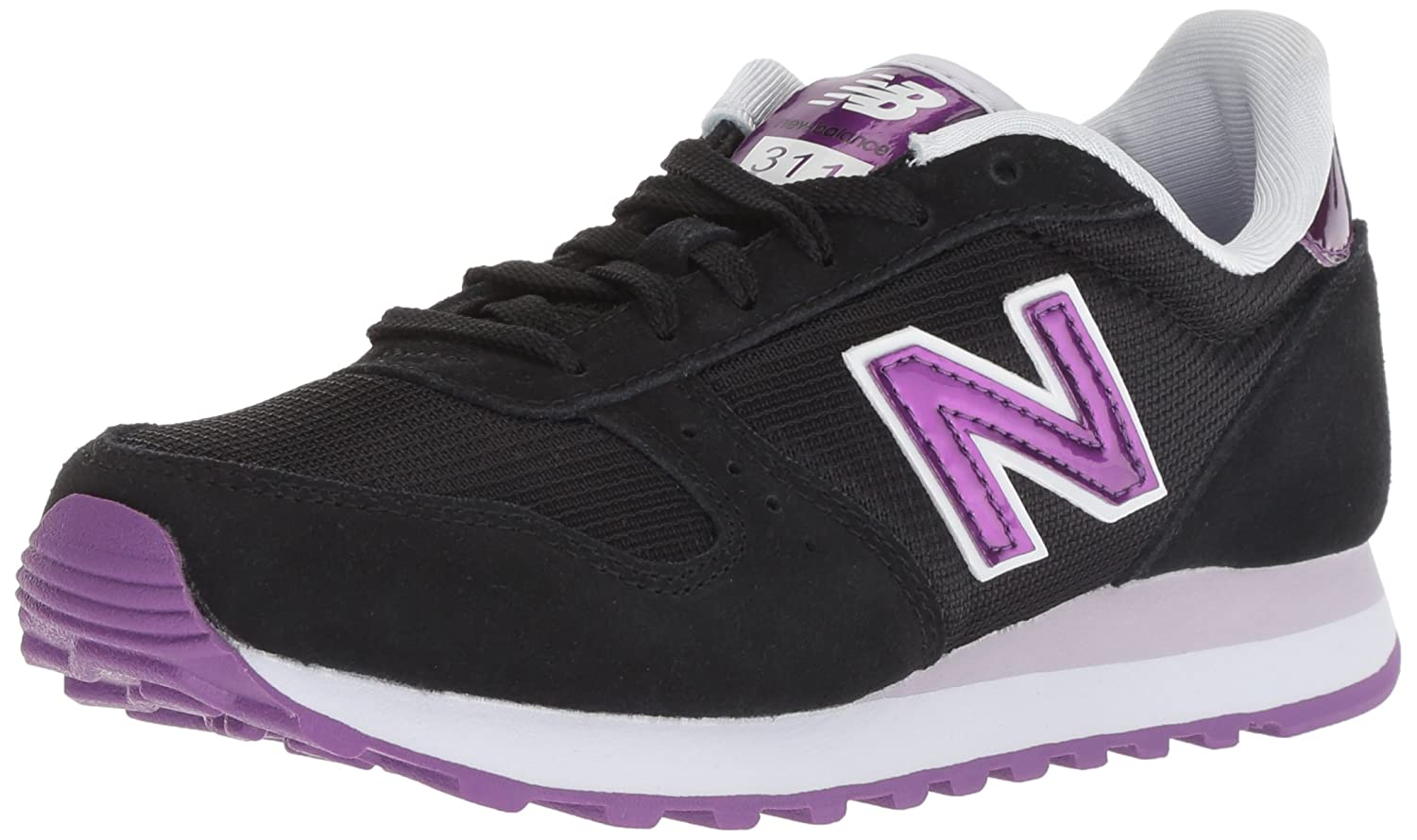 New Balance Women's 311v1 Sneaker B075R7JPF5 6.5 B(M) US|Black