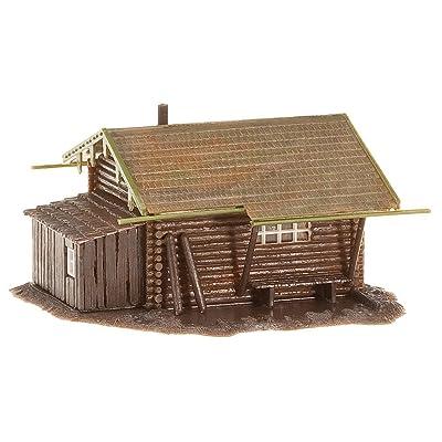 Faller 130293 Forest Log Cabin HO Scale Building Kit: Toys & Games