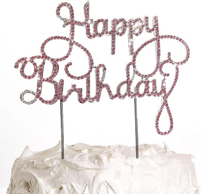20pcs Happy Birthday Glitzer Kuchen Dekoration Cake Topper Kuchen Toppers