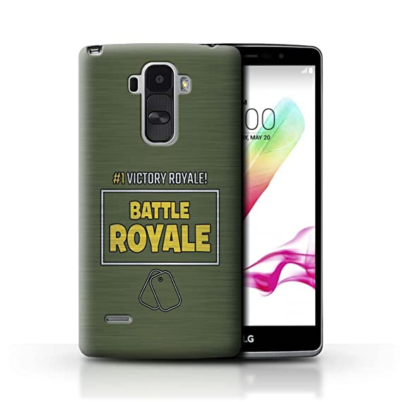 newest 1cbbc 29a88 STUFF4 Phone Case/Cover for LG G4 Stylus/Victory Royale #1 Design/FN Battle  Royale Collection