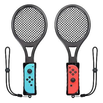 73301782f4c5 Tennis Racket for Nintendo Switch Twin Pack Tennis Racket for N-Switch  Joy-Con