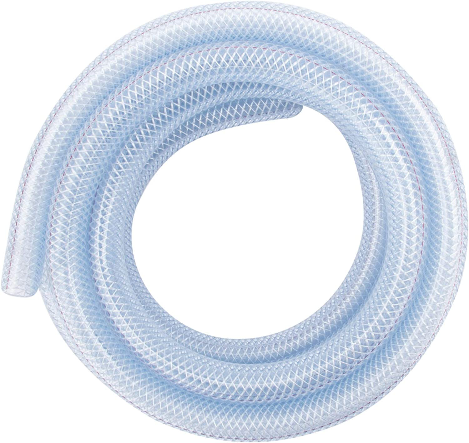 "LDR Industries 516 B1210 Nylon Tubing 1/2"" x 10' Clear"