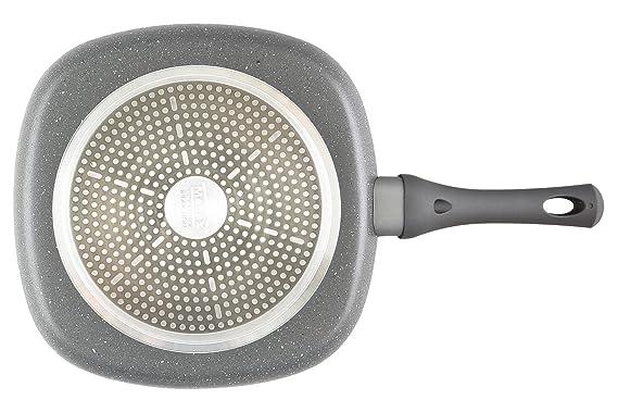 MENAX FOCUS - Asadora de Aluminio Forjado de Alta Calidad con Antiadherente
