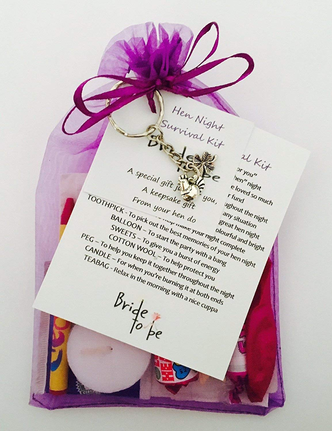 Hen Night Survival Gift Kit Great Gift/Present For The Bride To Be ...