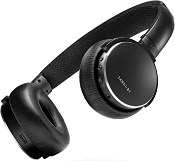 Amazon Com Status Audio Bt One Wireless On Ear Headphones Bluetooth 5 0 Aptx 30 Hours Of Battery Usb C Quick Charge Award Winning Sound Minimalist Metal Design Matte Finish Jetblack Home