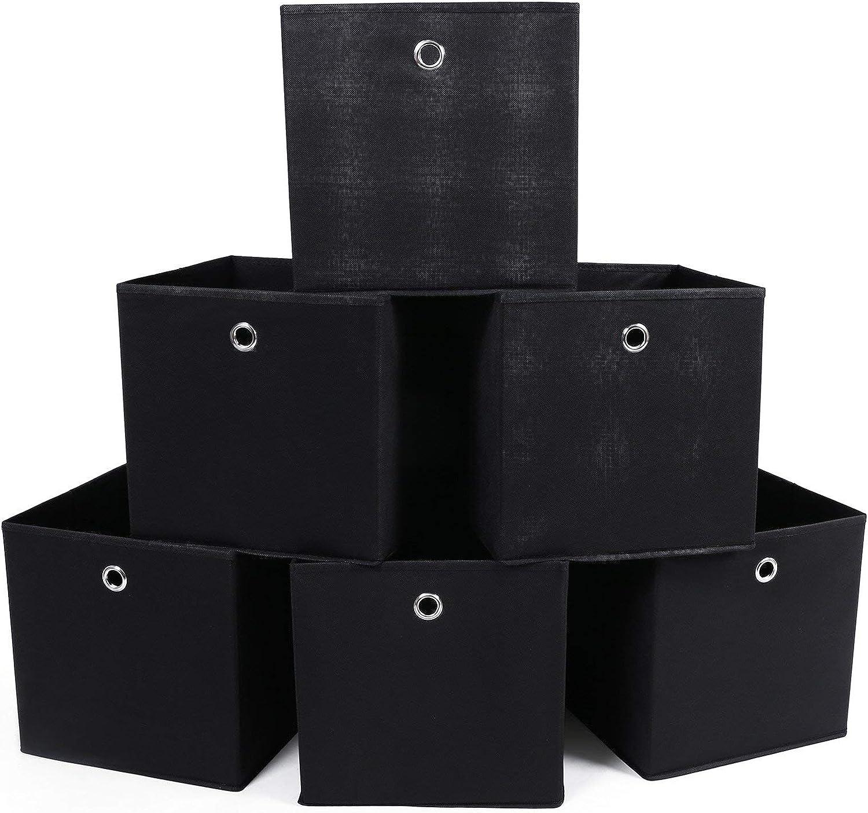 SONGMICS RFB02H-3 - Organizadores Plegables, 6 Piezas, con ...