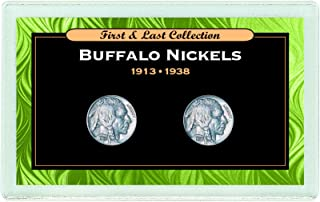 product image for First & Last Buffalo Nickels 1913 & 1938