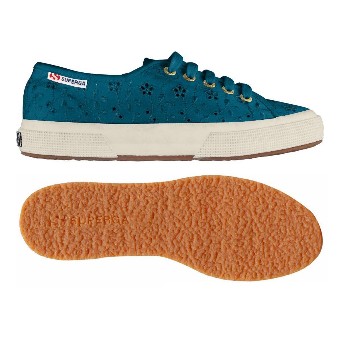 Superga 2750 Sangallo Satin Women Schuhe aquamarine - 37 P74ae1LYly