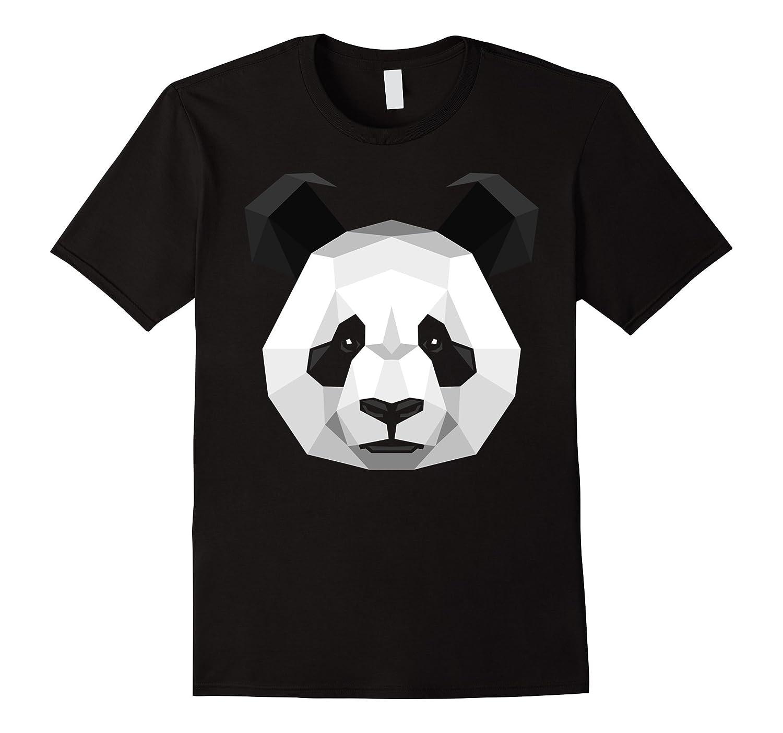 Poligons Panda T-shirt style graphic design shirt-BN