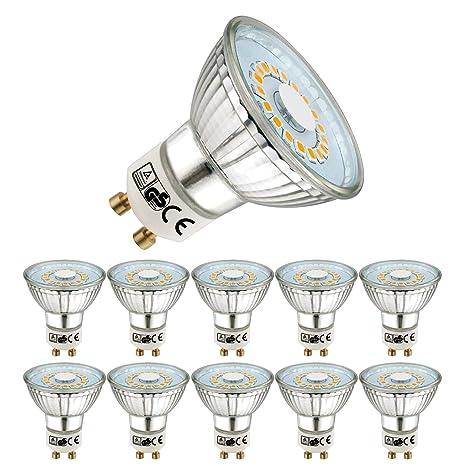 EACLL® Bombillas LED GU10, Blanco Cálido GU10 LED 5W 470 Lúmenes Lámpara LED equivalente
